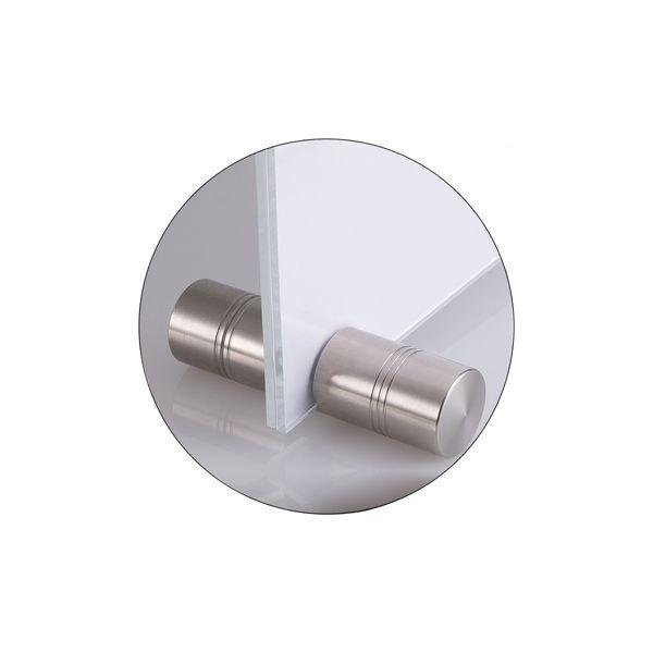 Design Edelstahlfuß, zylindrisch