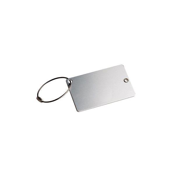 Kofferanhänger mit Metallring