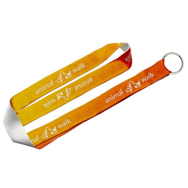 Umhängeband, 25 mm mit Schlüsselring