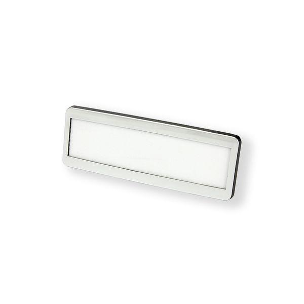 Kunststoffrahmen-Namensschild mit Magnet