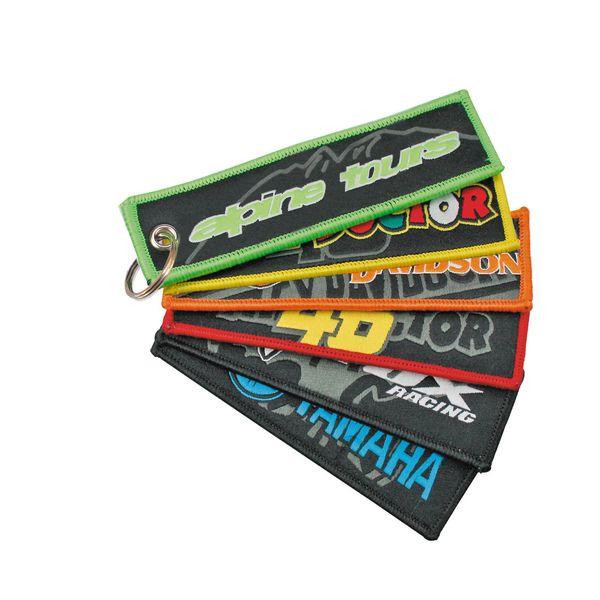 Textil-Schlüsselanhänger mit Schlüsselring