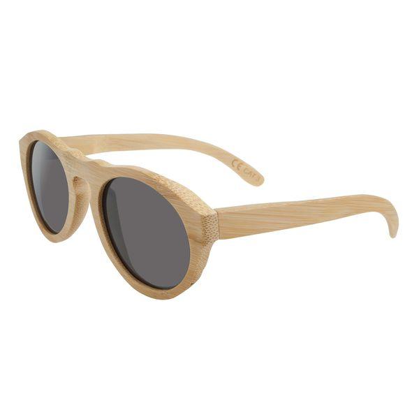 Sonnenbrille - Bambus - edele Maserung - UV-400