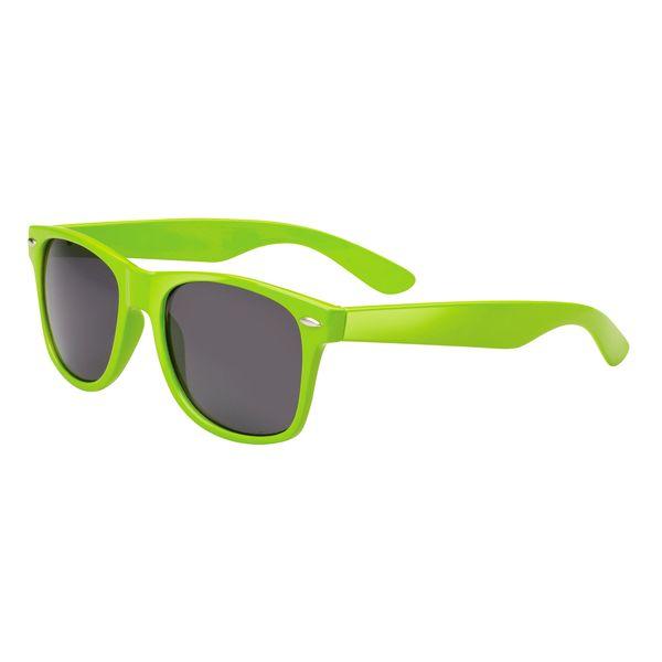 Sonnenbrille, matt aus leichtem Polypropylen grün