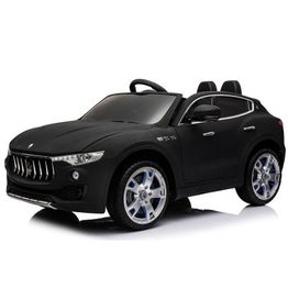 Ηλεκτροκίνητο Αυτοκίνητο 12V Maserati Levante SX1798 Eva Wheels Cangaroo Black 3800146252823