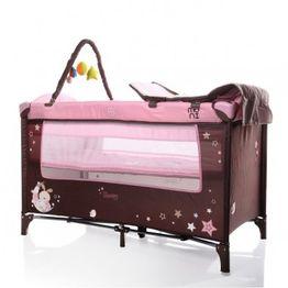 Moni Παρκοκρέβατο Sleepy New Pink