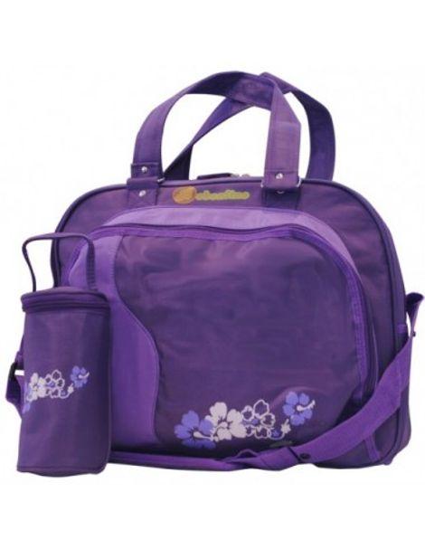 Τσάντα Energy με θήκη θερμό purple Cangaroo