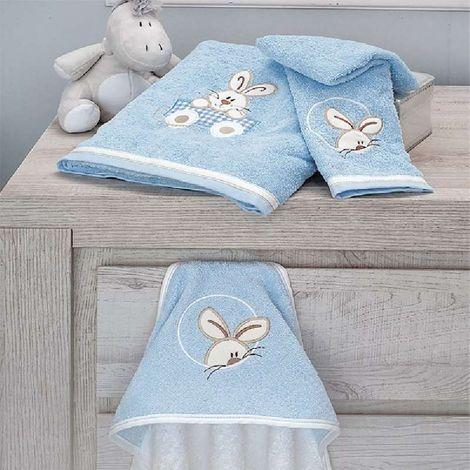 Πετσέτες Μπάνιου (Σετ 2τμχ) Baby Oliver Happy Bunny Des 141