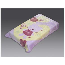 Κουβέρτα βρεφική βελουτέ 110Χ140 Beauty Home 5040