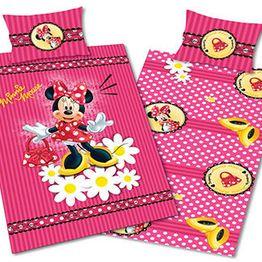 Homeline Παιδικά Σεντόνια Σετ Μονά, Minnie 995,