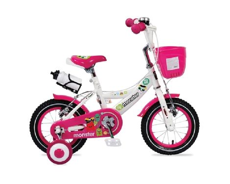 """ΠοδήλατοΠαιδικό 1281 12"""" Pink Byox Cangaroo"""