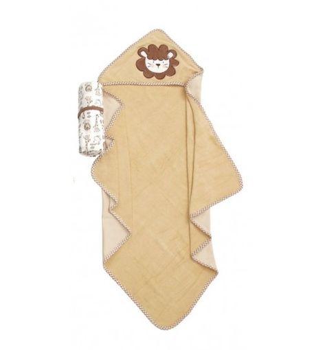 Κάπα Βρεφική & Πετσέτα Σετ Baby Bath Rabbit 102 Velour Applique Cotton (75x75) 2Τεμ Viopros