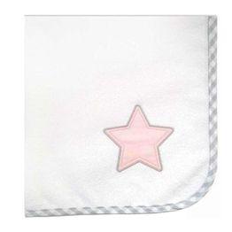 Baby Oliver Πάνα φανελένια Lucky star pink des.308
