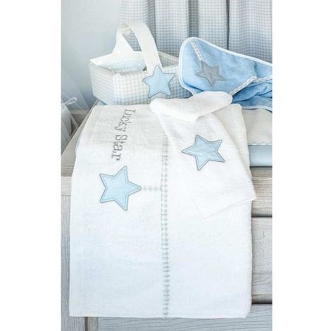 Baby Oliver Καλαθάκι καλλυντικών Lucky star blue des.309