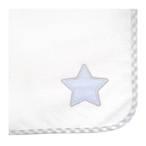 Baby Oliver Πάνα φανελένια Lucky star blue des.309