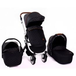 Πολυκαρότσι 3 in 1 Dotty Black Kikka Boo