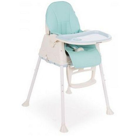 Καρέκλα φαγητού 2 σε 1 Creamy Light Blue Kikka Boo