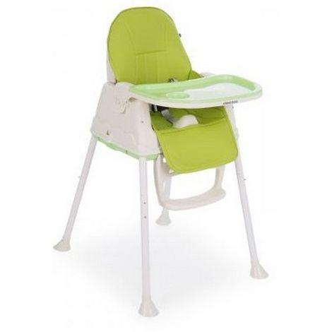 Καρέκλα φαγητού Kikka Boo 2 σε 1 Creamy Green