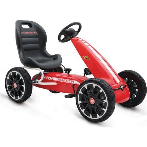 Παιδικό αυτοκινητάκι Go-cart Abarth 500 Assetto Red Cangaroo