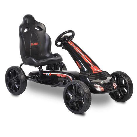 Παιδικό αυτοκινητάκι με πετάλια Go Cart Olympus black TL6988A Cangaroo