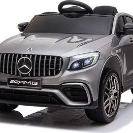 Ηλεκτροκίνητο Αυτοκίνητο 12V Mercedes-AMG GLC 63s Eva Wheels Silver Cangaroo