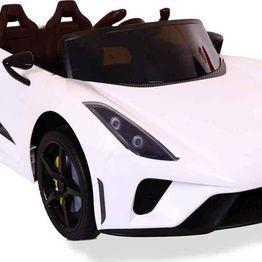 Ηλεκτροκίνητο Αυτοκίνητο 12V Famous White Cabrio Cangaroo