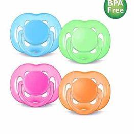 2 ΠΙΠΙΛΕΣ ΣΙΛΙΚΟΝΗΣ BPA FREE FREEFLOW 6-18m (Philips Avent)