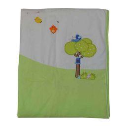 Κουβέρτα Bελουτέ Αγκαλιάς 106 x 86 cm Little Birds Bebe Stars
