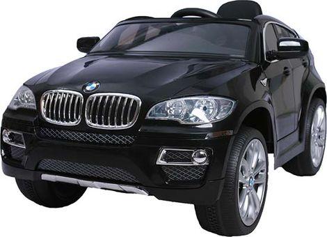Ηλεκτροκίνητο Αυτοκίνητο BMW X6 12V R/C JJ258 Black Cangaroo