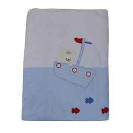 Κουβέρτα Bελουτέ Αγκαλιάς 106 x 86 cm Fisherman Bebe Stars