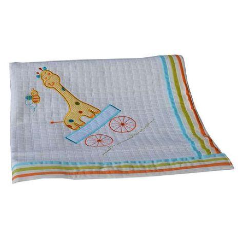 Κουβέρτα Πικέ Αγκαλιάς 90 x 90cm Safari Bebe Stars