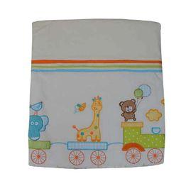 Κουβέρτα Bελουτέ Αγκαλιάς 106 x 86 cm Safari Bebe Stars