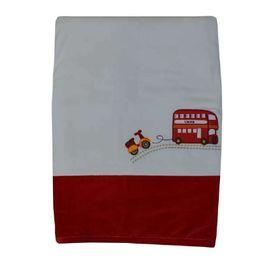 Κουβέρτα Bελουτέ Αγκαλιάς 106 x 86 cm Happy Travel Bebe Stars