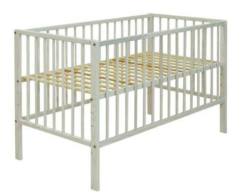 Just Baby Βρεφικό Κρεβάτι Basic Αντικέ 2113A