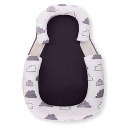 Kikka boo Βρεφικό Μαξιλάρι Θέσης - Σφηνάκι 60X40 Anti-rollover Memory Foam Clouds