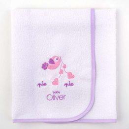 Σελτεδάκι Βρεφικό Baby Oliver Lilac Dream Birds Design 300