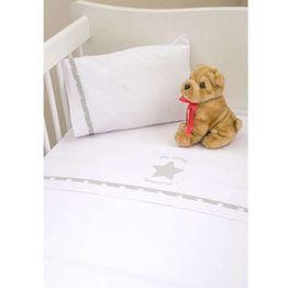 Σεντόνια Λίκνου Καλαθούνας για μωρά My Little Superstar Design 301 Baby Oliver