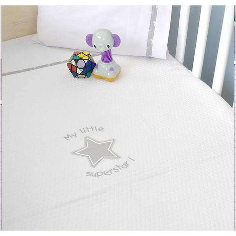 Κουβέρτα Κούνιας Πικέ My Little Superstar Design 301 Baby Oliver