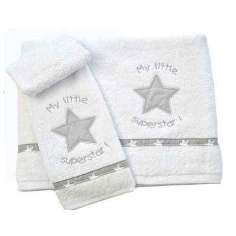 Σετ πετσέτες Βρεφικές My Little Superstar Design 301 Baby Oliver