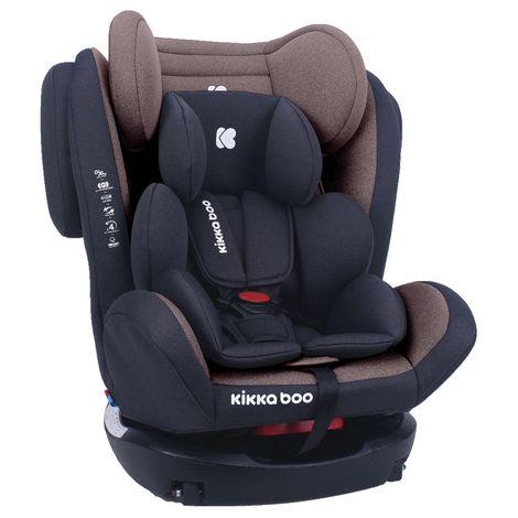 Κάθισμα Αυτοκινήτου 4 Fix 0+/1/2/3 0-36kg Brown Kikka Boo