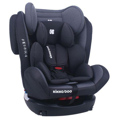 Κάθισμα Αυτοκινήτου 4 Fix 0+/1/2/3 0-36kg Dark Grey Kikka Boo