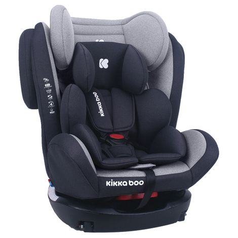 Κάθισμα Αυτοκινήτου 4 Fix 0+/1/2/3 0-36kg Light Grey Kikka Boo