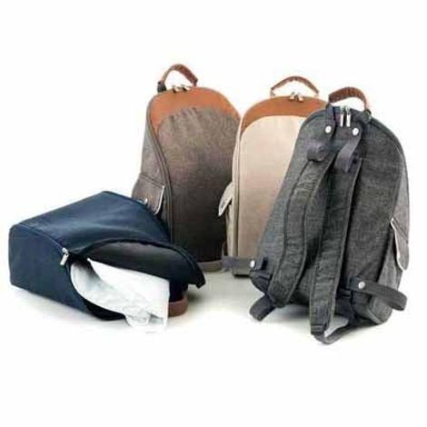 Τσάντα αλλαξιέρα Moon - Brown Melange