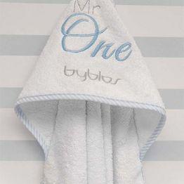 Μπουρνούζι τρίγωνο Design 82 Mr One Blue Byblos