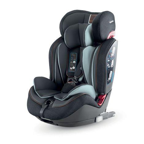 Κάθισμα Αυτοκινήτου Gemino I-Fix Black Inglesina