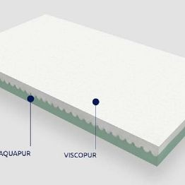 Παιδικό στρώμα Θέτις Grecostrom Viscopur/Aquapur με κάλυμμα Οργανικό Βαμβάκι ΕΩΣ 66-74x140cm