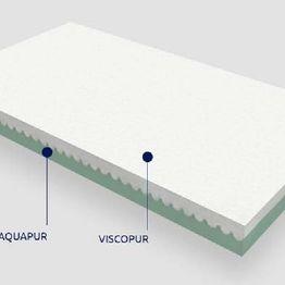 Παιδικό στρώμα Θέτις Grecostrom Viscopur/Aquapur Antibacterial ΕΩΣ 75-80x140-160cm