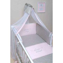Baby Oliver Σετ Προίκας Κούνιας 3τμχ Little Angel Somon Design 336 46-6700/336