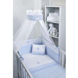Baby Oliver Βρεφική Κουνουπιέρα Στρογγυλή Swarovski Satin Ciel Design 381 46-6703/381