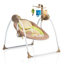 Ριλάξ κούνια Baby Swing Plus Cappuccino Cangaroo