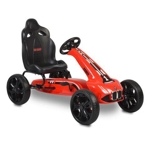 Cangaroo Αυτοκινητάκι με πετάλια Go Cart Monte Carlo Red